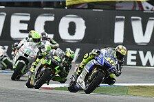 MotoGP - Bike zum richtigen Zeitpunkt gewechselt: Rossi: Reifenwahl kostete Podium