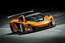 Mehr Motorsport - Neues GT3-Modell von McLaren f�r die kommende Saison auf Basis des 650S: McLaren zeigt den 650S GT3 f�r 2015
