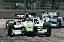 IndyCar - Paranoide Vorstellungen: Sebastien Bourdais holt historischen Sieg