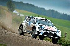 WRC - Sieg beim VW-Heimspiel Pflicht: Sebastien Ogier: Ich sp�re keinen Druck