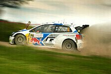 WRC - Enges VW-Duell an der Spitze: Finnland: Latvala f�hrt hauchd�nn vor Ogier