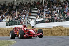 Formel 1 - R�ikk�nen, Rosberg und Co. im Einsatz: Livestream: Goodwood Festival of Speed