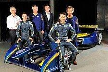 Formel E - Das ist �u�erst aufregend!: Prost und Buemi starten f�r e.dams-Renault