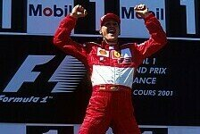 Formel 1 - Bilder: Michael Schumachers Podestpl�tze