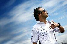 Formel 1 - Mehr Druck als sein sollte: Felipe Massa: Von der Ferrari-Last befreit