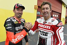 Superbike - Zwei interessante Wildcards: Biaggi und Reiterberger in Misano am Start