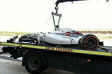 Formel 1 - Technik, Fahrfehler und fliegende Teile: Pleiten, Pech und Pannen bei Williams