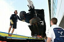 Formel 1 - Ausfall & Unfall: 1. Training: Debakel f�r Williams