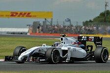 Formel 1 - Williams wieder vorne: Topspeeds in Gro�britannien: Mercedes weit zur�ck