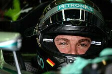 Formel 1 - Fragezeichen hinter Zuverl�ssigkeit: Rosberg ist guter Dinge