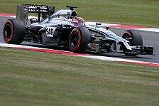 Formel 1 - Keine Chance gegen Top-Drei-Teams: McLaren k�mpft in schnellen Kurven