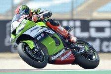 Superbike - Lowes st�rzt in der Corkscrew, Barrier schl�gt auf Start-Ziel ein: Sykes gewinnt Abbruch-Rennen
