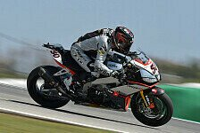Superbike - Melandri nach Bestzeit happy