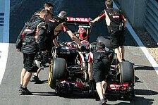 Formel 1 - Neuer Motor gibt zum zweiten Mal den Geist auf: Lotus: Mysteri�se Antriebsprobleme bei Maldonado