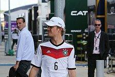 Formel 1 - Helm-Lackierung sorgt f�r Unmut: Rosberg hat Zoff mit der FIFA