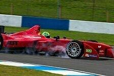 Formel E - Leimer im Einsatz: Di Grassi Schnellster am zweiten Testtag