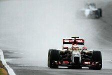 Formel 1 - Lotus: Renault ist schuld: Maldonado in Silverstone disqualifiziert