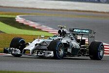 Formel 1 - Mit Mut und Teamwork auf Pole: Rosberg: Gut, dass Lewis nur Sechster ist