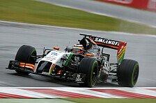 Formel 1 - Die Dinge �ndern sich schnell: H�lkenberg glaubte nicht an P4
