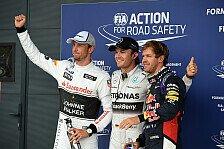Formel 1 - Es war ein Rennunfall: Vettel und Button begr��en Rosbergs Straffreiheit