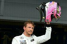 Formel 1 - Gro�e Emotionen: Button: Dad hat aus dem Himmel zugeschaut