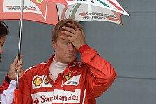 Formel 1 - De la Rosa und Bianchi �bernehmen: Nach Unfall: R�ikk�nen verpasst Testfahrten