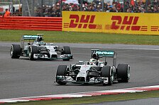 Formel 1 - Teaminterner Pole-Kampf: Hamilton vs. Rosberg: Ein hei�es Quali-Duell