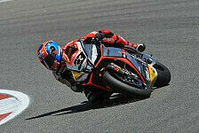 Superbike - Aprilia kämpft mit dem Wind