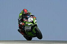 Superbike - Haslam und Davies r�umen sich gegenseitig ab: Sykes gewinnt extrem schwieriges Portugal-Rennen
