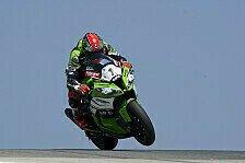 Superbike - Melandri mit heftigem Abflug: Test in Portimao: Sykes legt vor