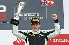 GP3 - Yelloly 2014 erstmals auf dem Podium: Status GP feiert Doppelerfolg beim Heimrennen