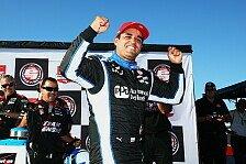 IndyCar - Hatten eine gute Balance: Pocono: Rekordmann Montoya auf Pole