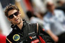 Formel 1 - Auf der Suche nach dem verlorenen Setup: Grosjean wie Ronaldo? Lotus legt Fokus auf 2015
