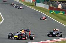 Formel 1 - Bei Ricciardo ging der Plan auf: Horner: Spontan f�r zwei Strategien entschieden
