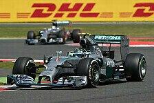 Formel 1 - Hamilton wieder hinter Rosberg: Gro�britannien GP: Die Boxenstopp-Analyse