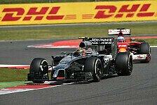 Formel 1 - Zum vierten Mal in Folge in den Punkten: Magnussen: Ich war einfach zu �berholen