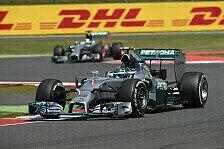 Formel 1 - Keine Teamorder bei Mercedes: Zetsche: Es muss kein deutscher Fahrer gewinnen