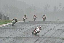 Superbike - Guintoli schie�t Melandri ab: Rea triumphiert im portugiesischen Regen
