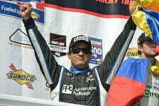 IndyCar - Triumph in Pocono: Montoya feiert ersten Sieg nach Comeback