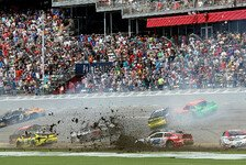 NASCAR - Zwei Big One und reichlich Regen in Daytona: Almirola siegt nach Rennabbruch