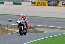 Bikes - Marino f�llt nach Sturz zur�ck: WSS - Van der Mark gibt das Tempo in Jerez an