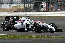 Formel 1 - Flaggenfest: Franzosen sehen Rot: Silverstone, Tag 1: Massa gibt den Ton an