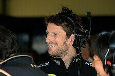 Formel 1 - Wetterchaos zum Vorteil nutzen: Romain Grosjean: Guter Startplatz einzige Chance