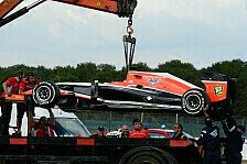 Formel 1 - Rundenk�nig Jules: Feuer! Bianchi raucht vor Ferrari-Generalprobe