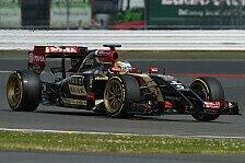 Formel 1 - Bilder: Silverstone - Lotus mit 18-Zoll-Pirelli