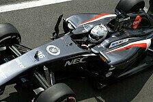 Formel 1 - Van der Garde: Schwerer Unfall bei Test