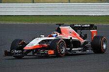 Formel 1 - H�chstbelastung durch Hitze?: Marussia Vorschau: Ungarn GP