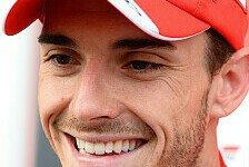 Formel 1 - Eines Tages mit Ferrari Rennen gewinnen: Bianchi: Ferrari f�r 2015 wohl dicht