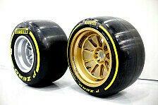 Formel 1 - Performance macht Mut: Reifen-Zukunft: Nicht nur gr��er, auch breiter?