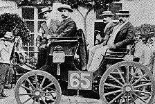 Formel 1 - Daimler-Motoren dominieren erste Automobil-Wettfahrt: 1894: Die Geburtsstunde des Motorsports